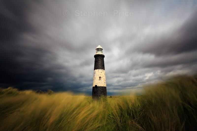 Stromy Spurn Point, East Yorkshire | High Light Lighthouse