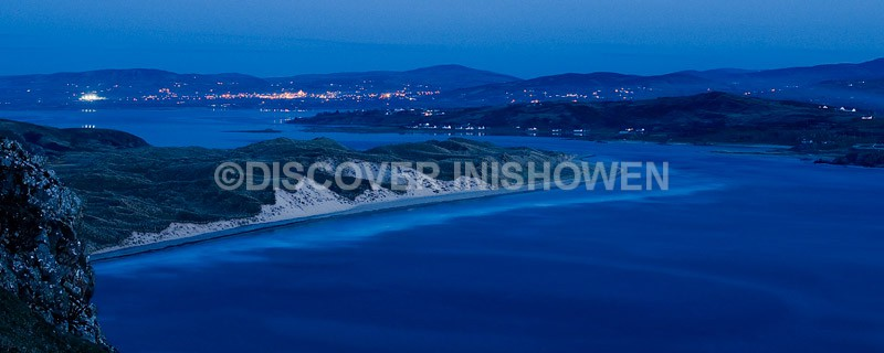 Night at Knockamany - Inishowen-Pano