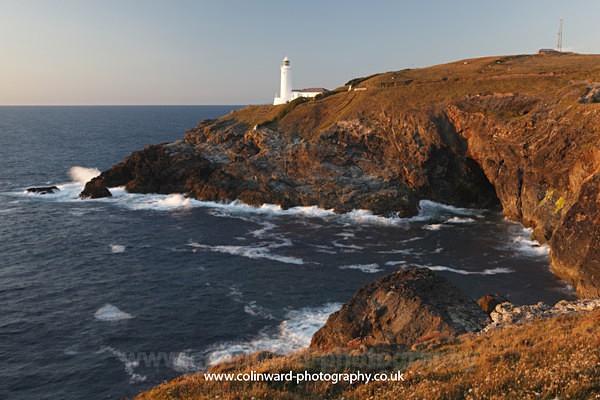 Trevose Lighthouse.    ref 8710 - Cornwall