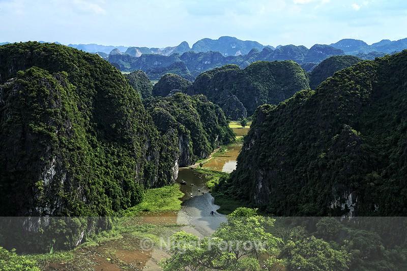 Trang An Scenic Landscape viewpoint, Tam Coc, Vietnam - Vietnam