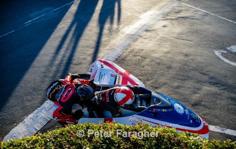 Conrad Harrison and Jason Crowe - Southern 100 Road Races