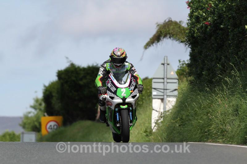 James Hillier Kawasaki / Quattro Plant Muc-Off Kawasaki - Bikenation Lightweight TT