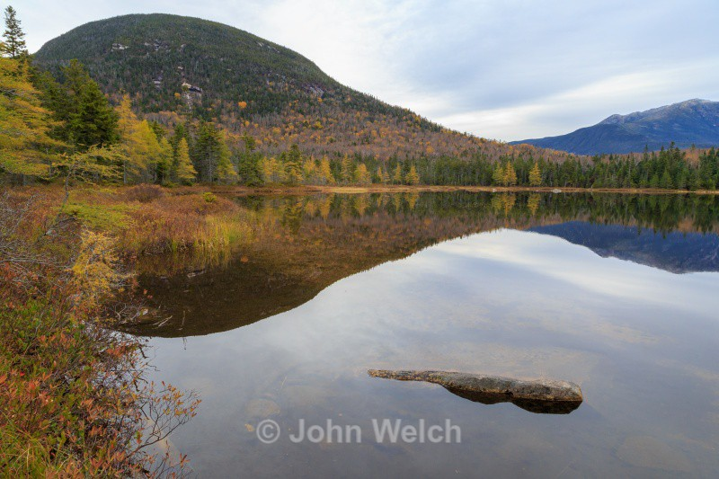 Lonesome Lake in Late Fall - White Mountain National Forest and Northern New Hampshire