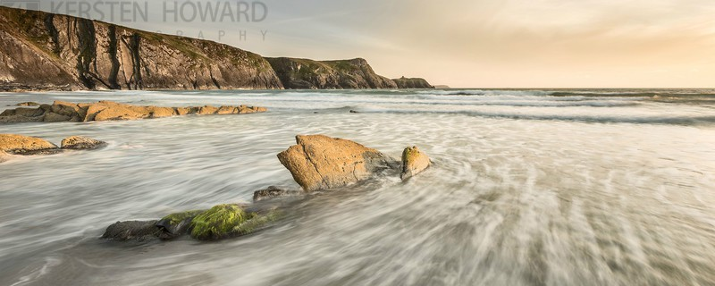 Tranquil Dusk - Traeth Llyfn - Images from book