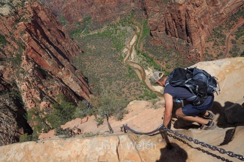 Looking Down - Utah