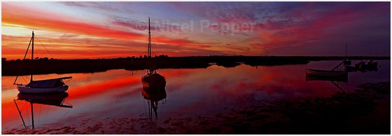 Walton Channel Sunset - Sunrises and Sunsets
