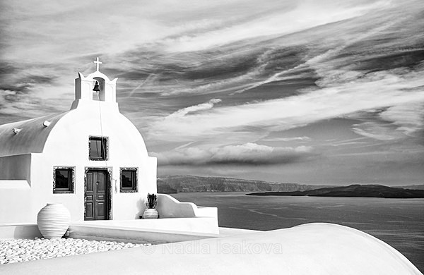 - Black & White