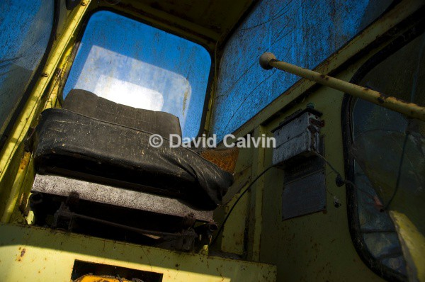 Excavator Cab 1 - Dereliction