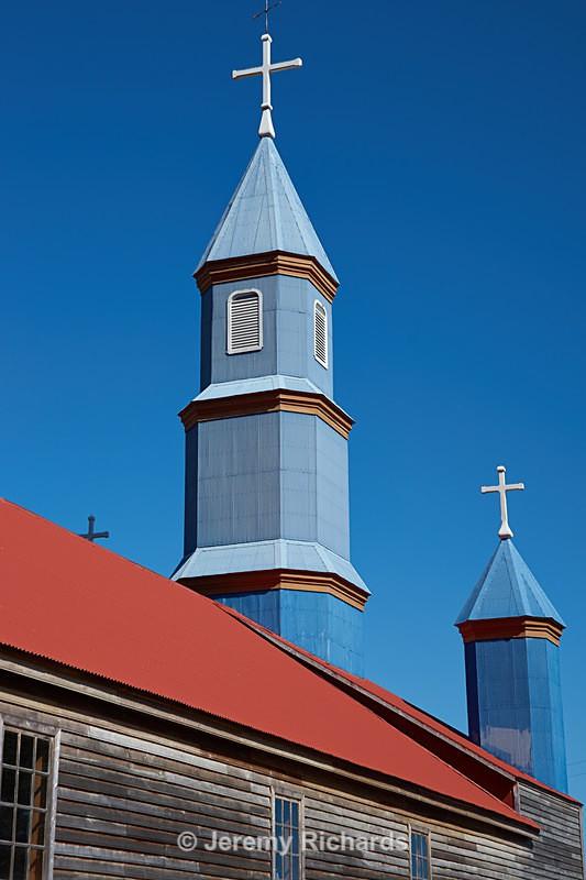 Iglesia de Tenaun - Coastal Chile