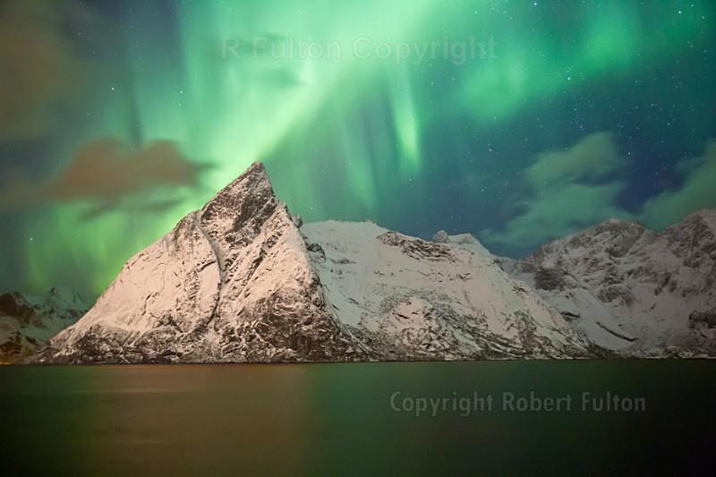 Aurora No3 - Lofoten Islands - Norway