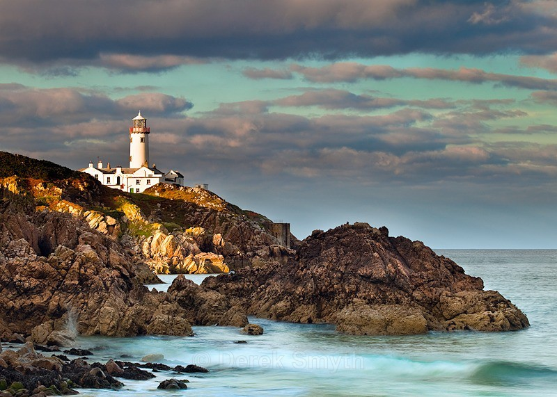 Fanad Lighthouse in the Evening Light