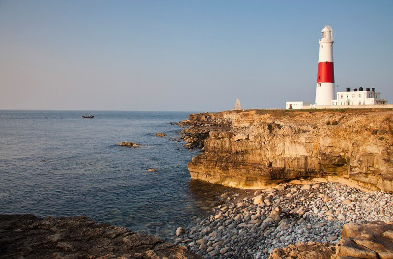 Portland Bill lighthouse - Dorset and the west country