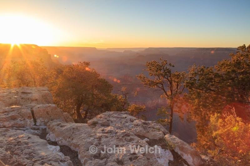 Grand Canyon Sunset - Arizona