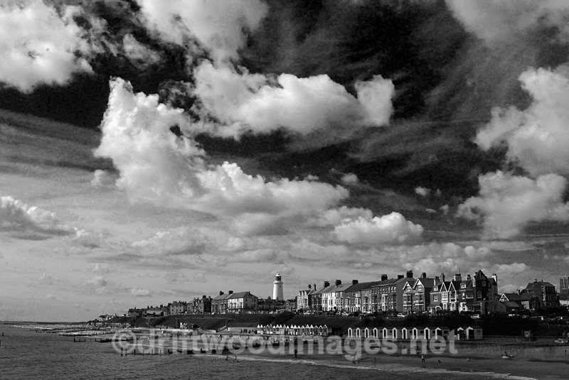 Sea front from the pier - Southwold Suffolk