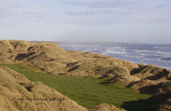 Trump International14th Tee to Green - Trump International Golf Links Aberdeen