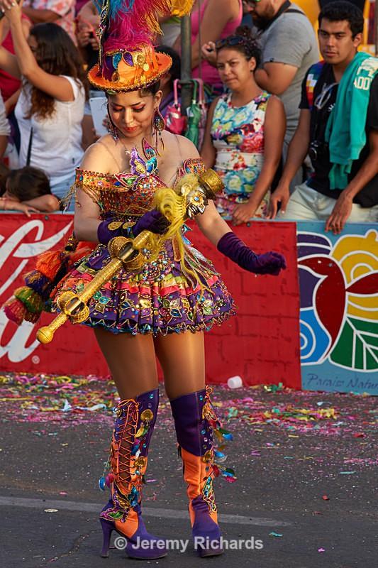 Morenada dancer - Carnaval Andino Con La Fuerza Del Sol - Arica