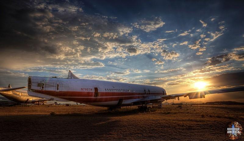 'then i shall fly no more', AMARG (Tucson AZ) | Abandoned America