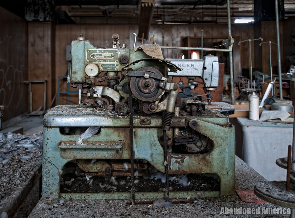 Lebow Brothers Clothing (Baltimore, MD) | Reece Corp. Sewing Machine - Lebow Brothers Clothing Company