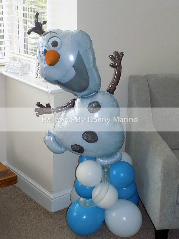 Disney Frozen. Olaf Stand up - Birthday Balloons