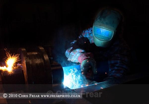 Mig Welder 03 - Industrial Welding
