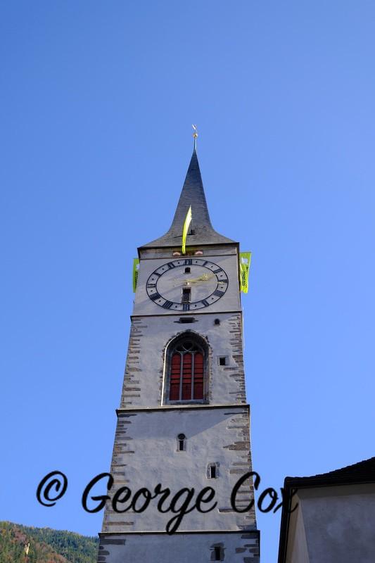 Cathedral Tower Chur - Switzerland