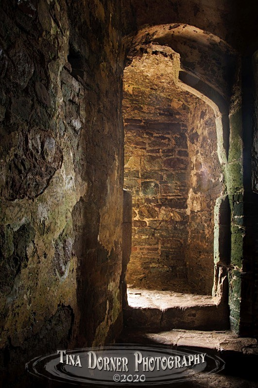 Man Shaped Doorway at Raglan Castle, Wales.  from 'Hidden Stone,' Forest of Dean and Wye Valley Portfolio by Tina Dorner Photography