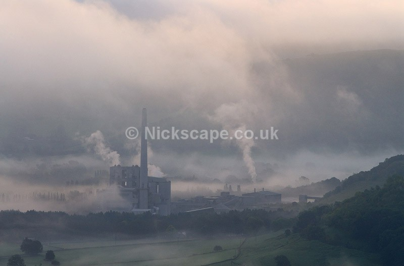 Hope Valley Cement Works at Dawn | Gallery | Peak District Photography