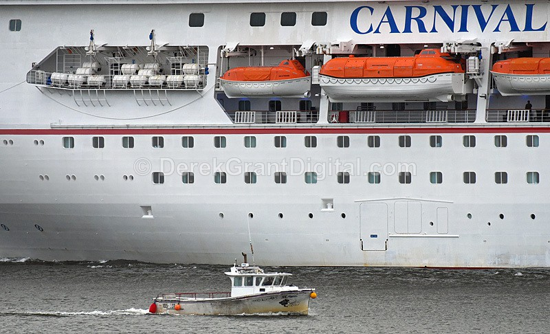 Cruise Ships Saint John New Brunswick Canada - Carnival Sunshine - Cruise Ships