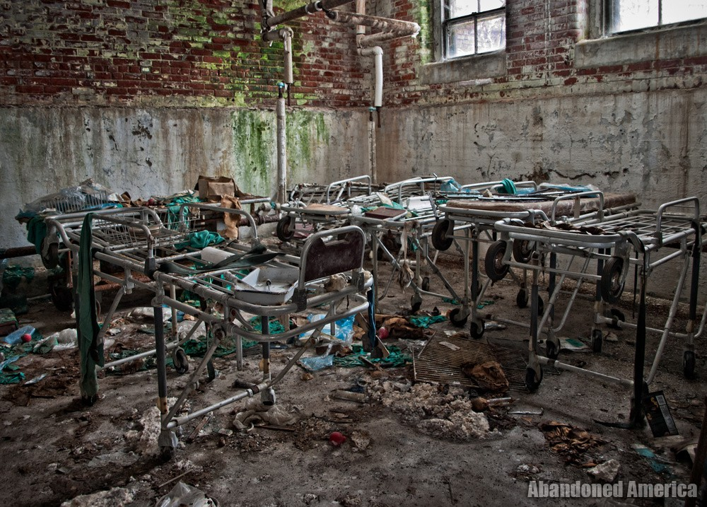 Gurneys | Norwich State Hospital
