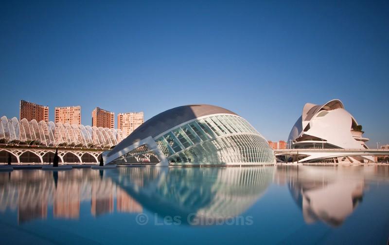 calatrava dawn - Valencia