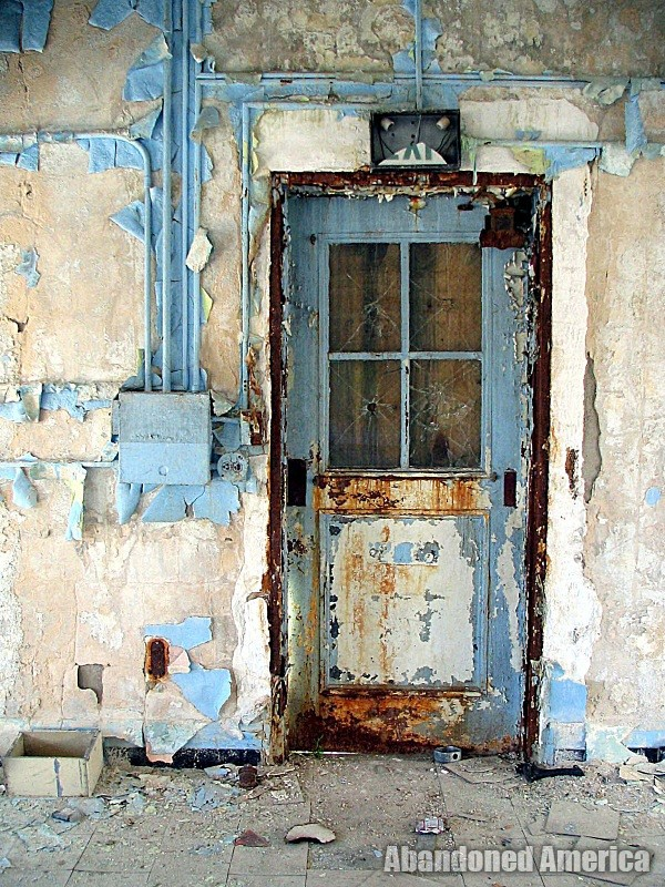 Henryton State Hospital | Theater Door - Henryton State Hospital