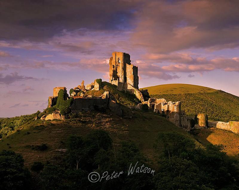 Corfe Castle Dorset - England