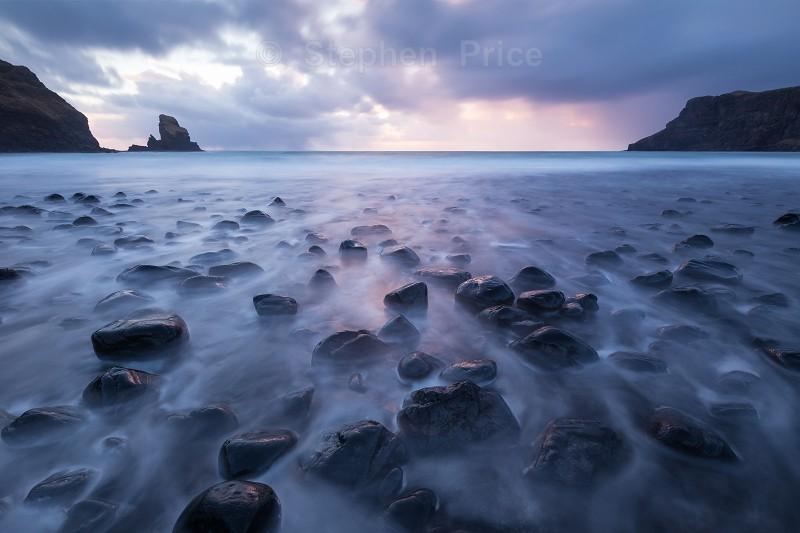 Sunset at Talisker Bay | Isle of Skye Landscape photography