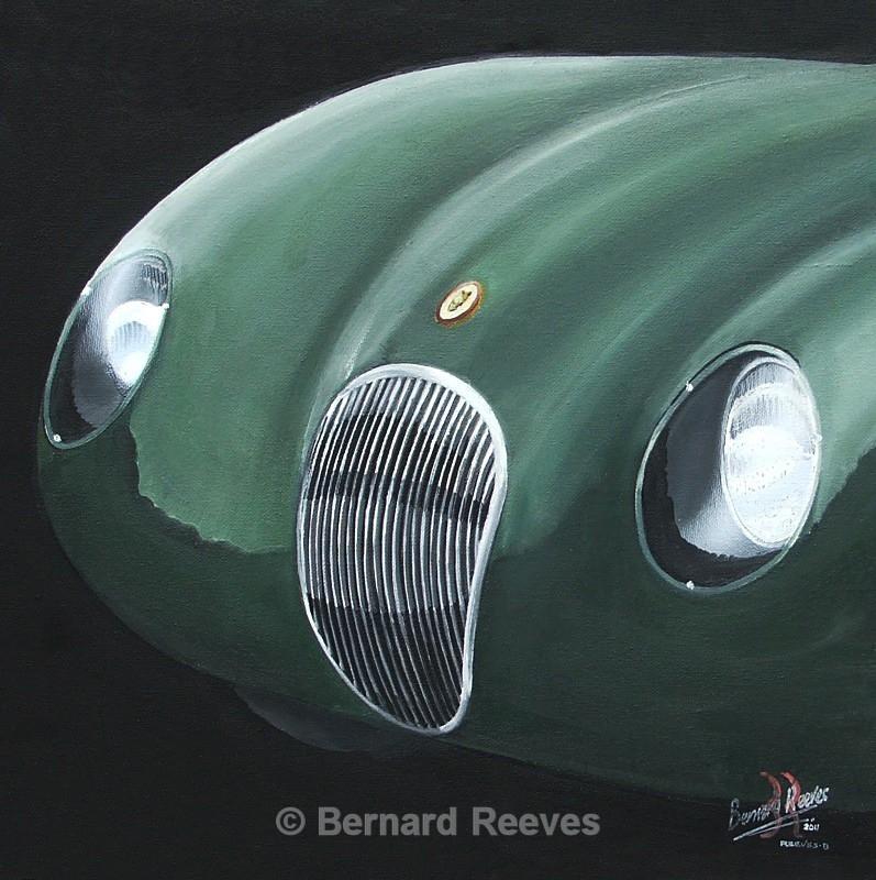 Jaguar C Type Badge - Classic Car Badges