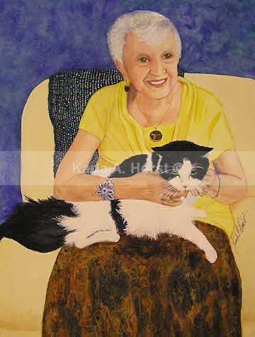 Neta and Cat - Commissioned Art