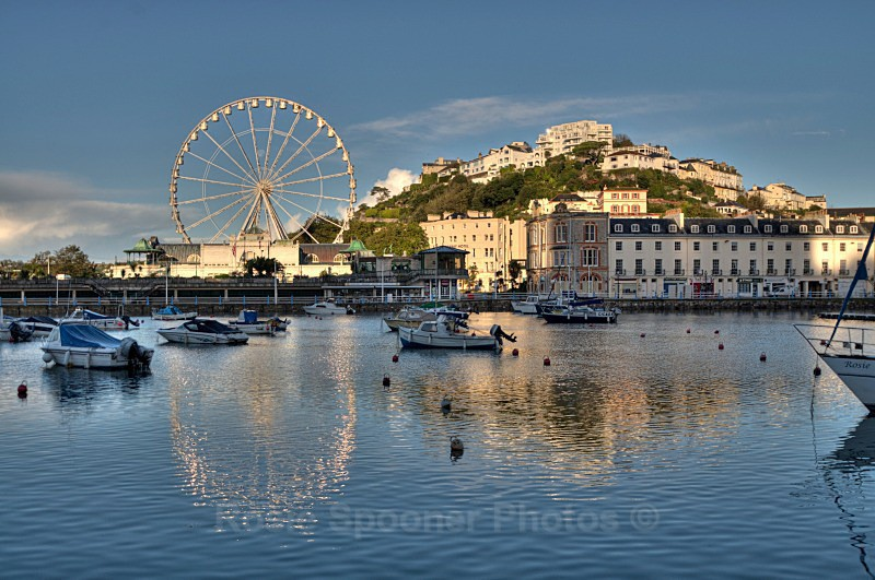 TQ10 - Torquay Greetings Cards - Torquay Harbour Big Wheel - Greetings Cards Torquay (separate galleries for Meadfoot Beach/Ansteys and Cockington)