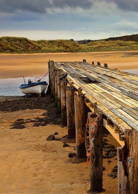 The Old Jetty at Culdaff in Donegal
