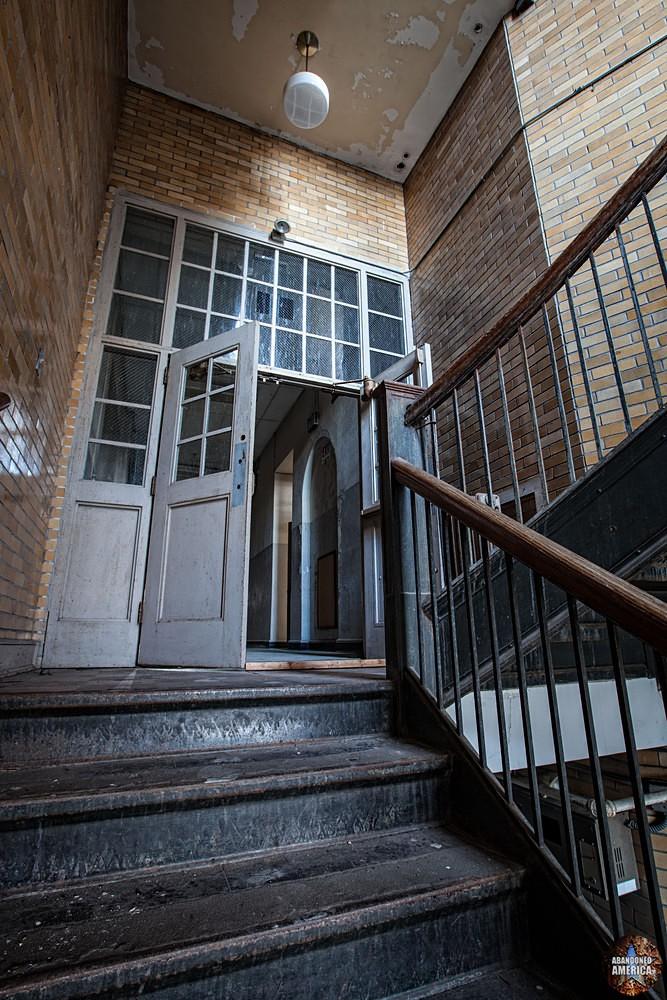 Central Junior High School (Chambersburg, PA) | Stairwell Door - Central Junior High School