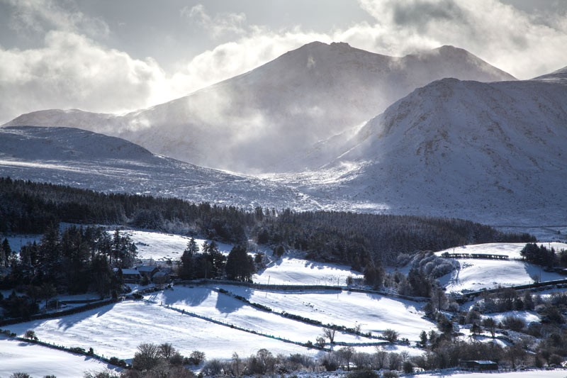 Bearnagh Snow - The Mourne Mountains (Winter)