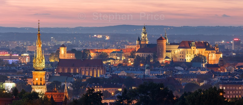 Krakow Castle Night Photography | Krakow | Poland Cityscape