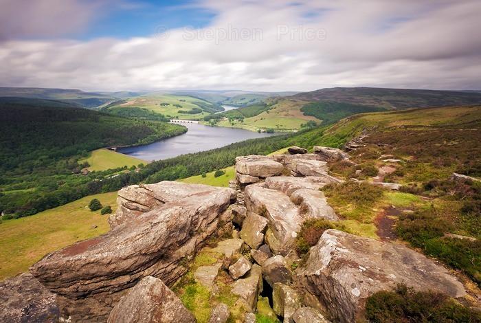 Peak District Photo Location | Bamford Edge to Derwent Reservoir