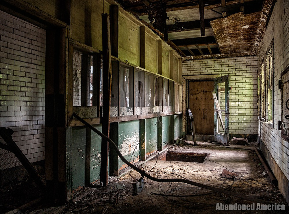 York County Prison (York, PA) | Hanging Trapdoor and Gallery - The York County Prison