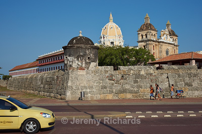 Fortified Wall of Cartagena - Colombia