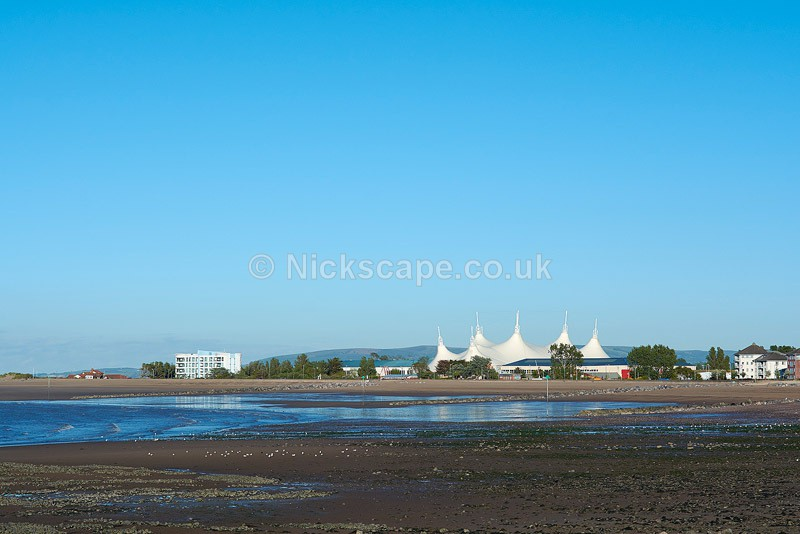 Butlins Minehead Holiday Park at Low Tide - Exmoor