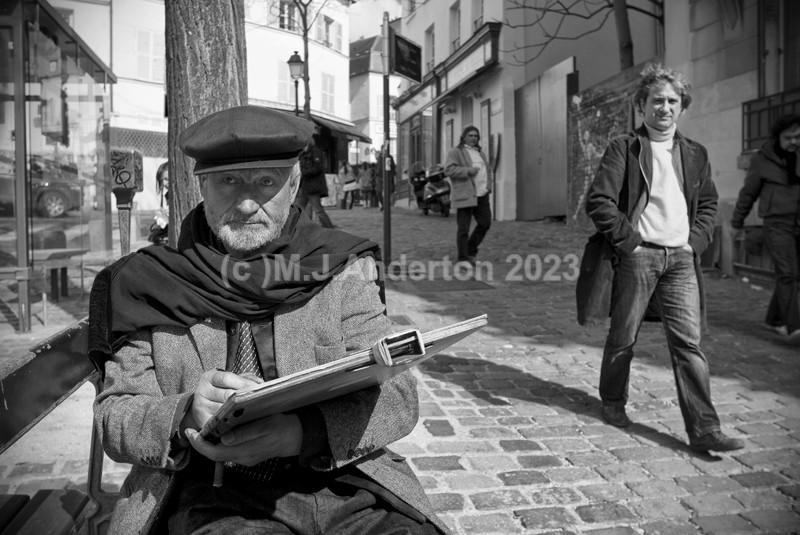 Montmartre Artist. - France