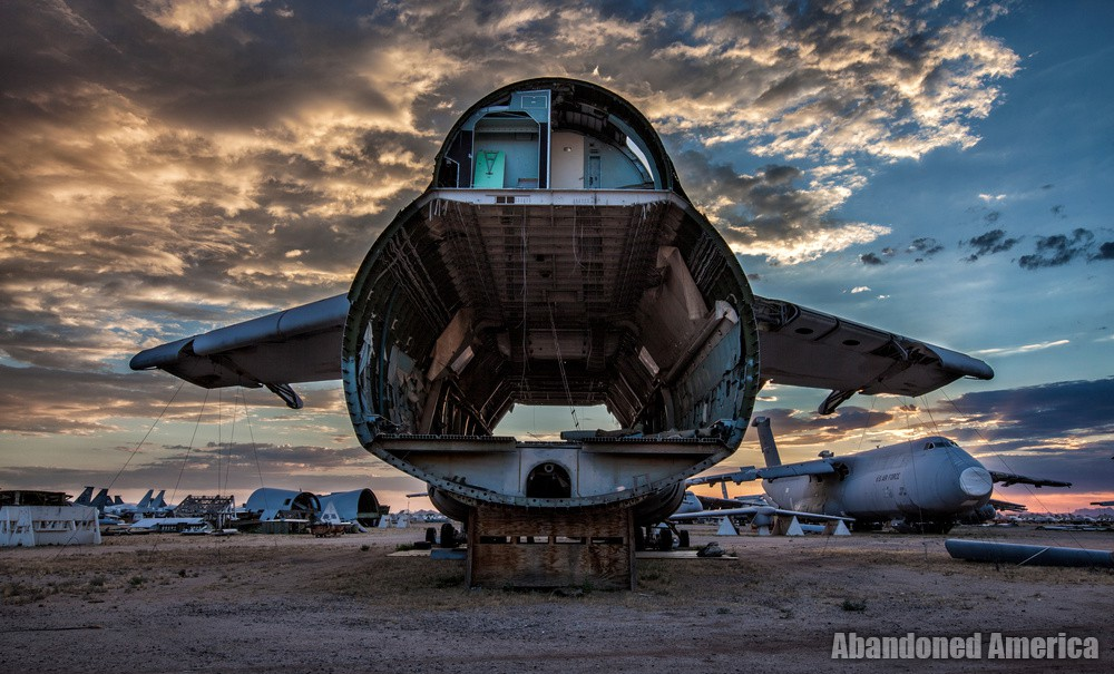 C5 Galaxy Aerospace Reclamation and Maintenance Group, Tucson AZ - Matthew Christopher Murray's Abandoned America