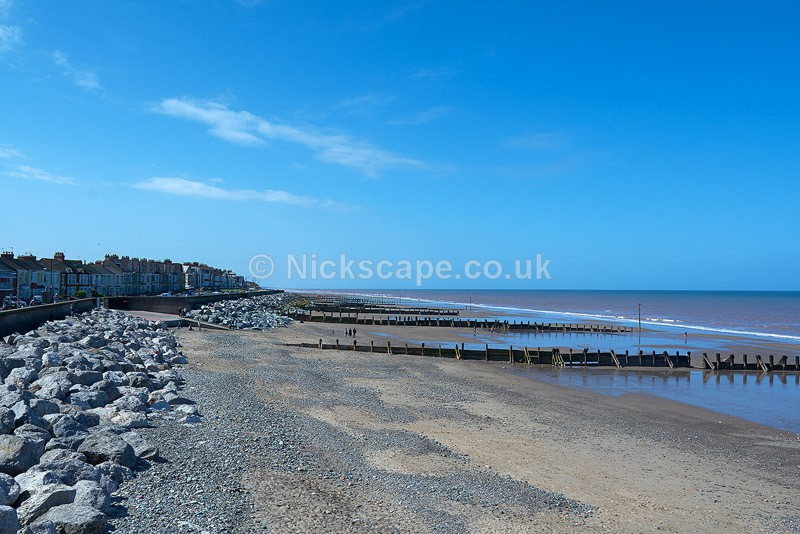 Withernsea Sands in Summer - Yorkshire - Yorkshire