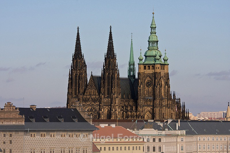 St. Vitus's Cathedral, Prague - Prague, Czech Republic