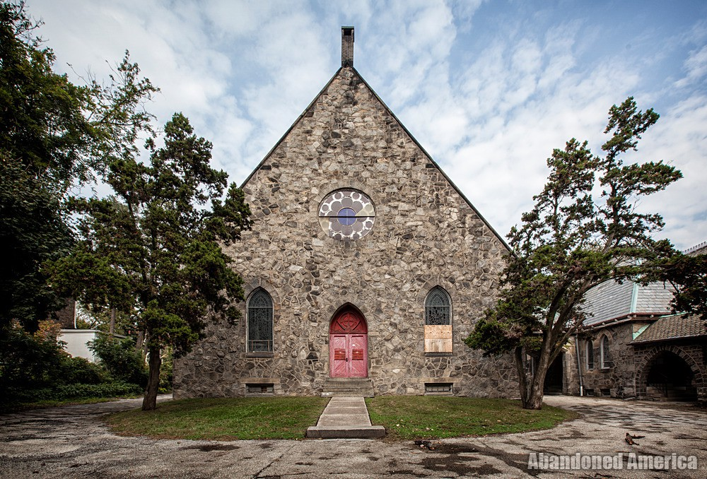 St. Peter's Episcopal Church (Germantown, PA) | Rear Church Exterior - St. Peter's Episcopal Church