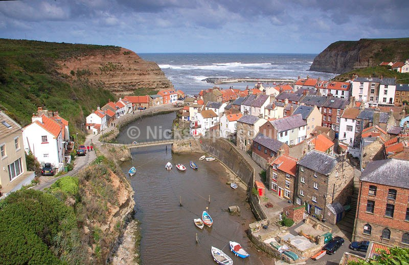 Popular Fishing Village of Staithes on the Yorkshire Coast | Landscape Photography by Nick Cockman